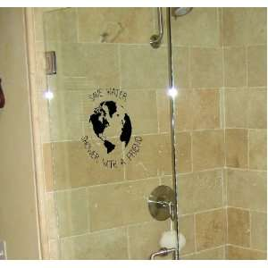 Save Water, Shower with a Friend Bathroom Wall Decal #1112