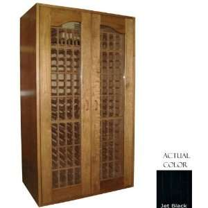 Sonoma 410 Bottle Wine Cellar   Glass Door / Black Cabinet Appliances