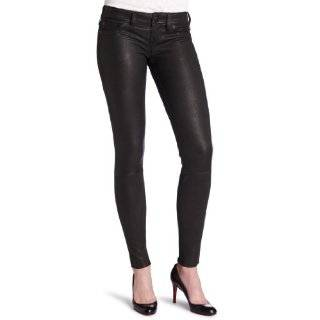 The Black Bean Skinny Vegan Leather Pant,Pants for Women Clothing