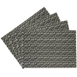Chilewich Spun Vinyl Placemat Black