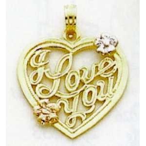 Love Heart Charm   K804 Jewelry
