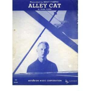 Alley Cat Vintage 1962 Sheet Music recorded by Bent Fabric