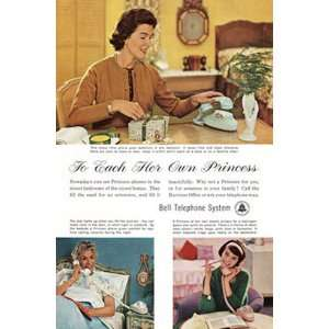 1961 Bell Telephone To Each Her Own Princess. Bell Telephone Books