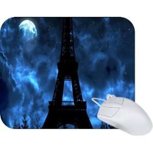 Rikki Knight Eiffel Tower Design Mouse Pad Mousepad