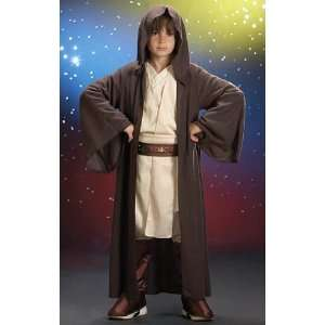 Lets Party By Rubies Costumes Jedi Robe Child Costume / Brown   Size