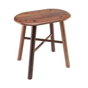 Environment   Biscuit Stool Black Walnut