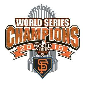 San Francisco Giants 2010 World Series Champions Official Clubhouse