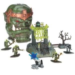Mega Bloks Fire Cavern Bone Dragon Skull 9427 Toys & Games
