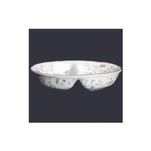 Summer Chintz Divided Serving Plate