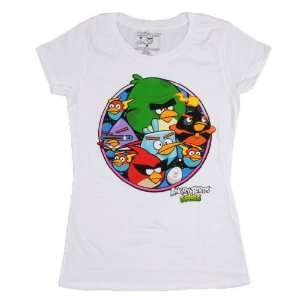 Angry Birds Space Cadets Juniors Shirt SizeL Everything
