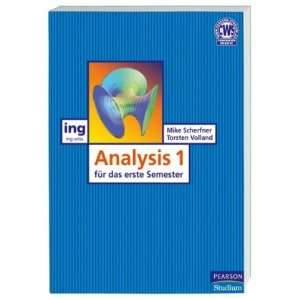Analysis I für das erste Semester (9783827373182) Books