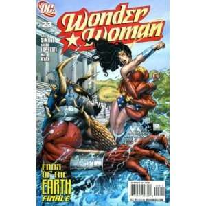 Wonder Woman #23 Ends of the Earth Finale DC COMICS Books