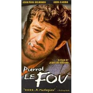 Pierrot Le Fou [VHS]: Jean Paul Belmondo, Anna Karina