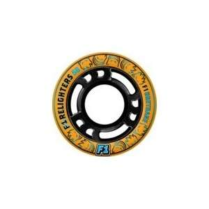 Spitfire Firelighter Orange / Black Skateboard Wheels