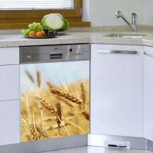 Mur Mur Golden Harvest Appliance sticker for Dishwasherr Color print