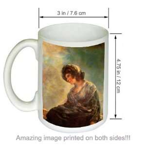 de Goya Art COFFEE MUG Milkmaid of Bordeaux Kitchen & Dining