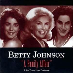 Family Affair Betty Johnson Music