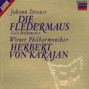 Strauss Die Fledermaus Johann II [Junior] Strauss, Herbert