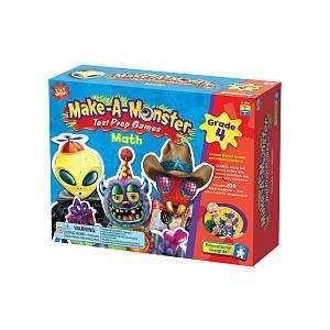 Make A Monster Math Test Prep Games   Grade 4  Toys & Games