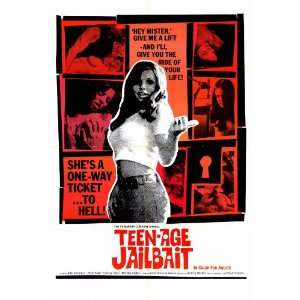 Teenage Jailbait Movie Poster (11 x 17 Inches   28cm x 44cm) (1976