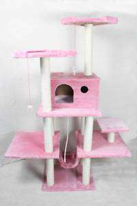 70 Cat Tree Condo Furniture Scratch Post Pet House 11P (814836015233