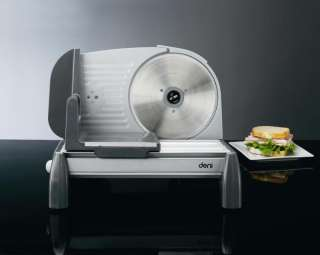 14350 Deni Electric Food Slicer Deluxe & Scale With Stainless Steel