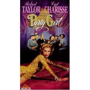 Party Girl [VHS]: Robert Taylor, Cyd Charisse, Lee J. Cobb