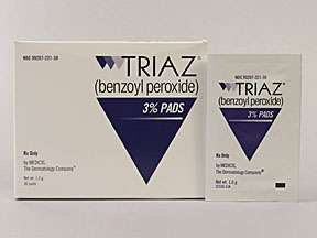 Picture TRIAZ 3% PADS 30S  Drug Information  Pharmacy  Walgreens