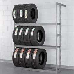 Single  and Double Entry Tire Racks : Tire Racks : C&H Distributors