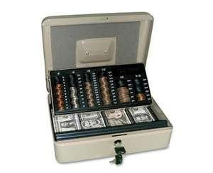 New Locking Cash Money Security Box Safe Lock Self Counting Change