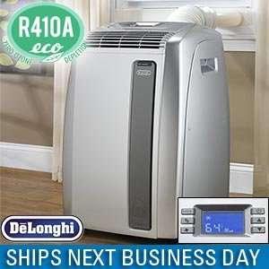 Delonghi PAC A140E 14,000 BTU Portable Room Air Conditioner