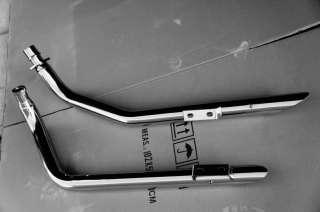 Polish Chrome Stainless Steel Exhaust Muffler Pipe Honda Shadow VLX