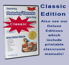 Learn Adobe PHOTOSHOP ELEMENTS 10/9/8/7/6 Training Tutorial DVD ROM