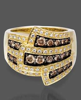 Le Vian 14k Gold Ring, Chocolate Diamond Wrap (1 ct. t.w.)   Jewelry