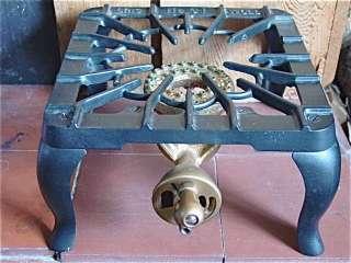 Vintage Cast Iron Griswold #31 Single Burner Gas Stove/Hotplate