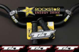 Yamaha raptor 660 rockstar pro taper handlebar w grips