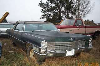 65 Cadillac Coupe Deville Parts Car 2 door Eldorado