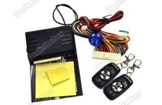 Car Keyless Entry System New Universal Remote Central Lock Locking