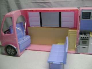 Pink RV Camper Motorhome Party Bus w/ HOT TUB w/ Sounds HTF GUC
