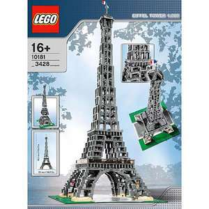 LEGO Bricks & More   The Eiffel Tower: Building Blocks