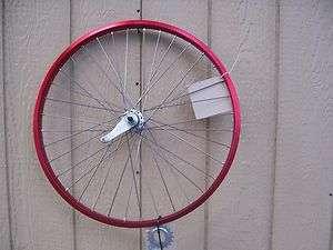 125 Bicycle Alloy Coaster Wheel 80g Red Cruiser Bike Chopper Cruiser