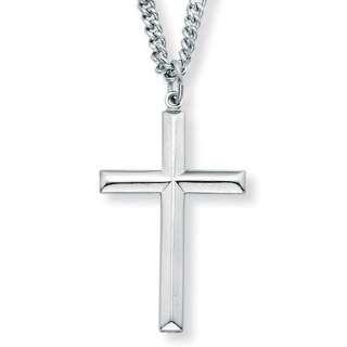 Palm Beach Jewelry Sterling Silver Cross Pendant