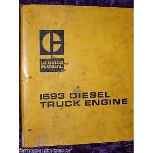 Caterpillar I693 Diesel Truck Engine OEM Service Manual Caterpillar