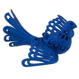 Holiday Time Royal Blue Dove Christmas Ornament Christmas Decor