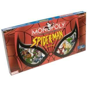 Spider Man Monopoly: Toys & Games