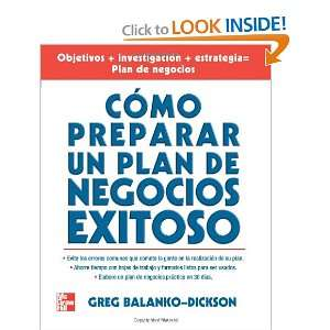 Como Preparar Un Plan De Negocios Exitoso (Spanish Edition