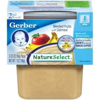 Gerber 2nd Foods Plastic Oatmeal Cereal W/Blended Fruits