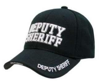 Delux Military Law Enforcement Cap Hat  Deputy Sheriff Clothing