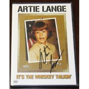 Artie Lange Signed Whiskey Dvd~psa Dna Coa~howard Stern