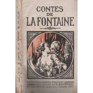 Contes de La Fontaine: Jean de La Fontaine: Books